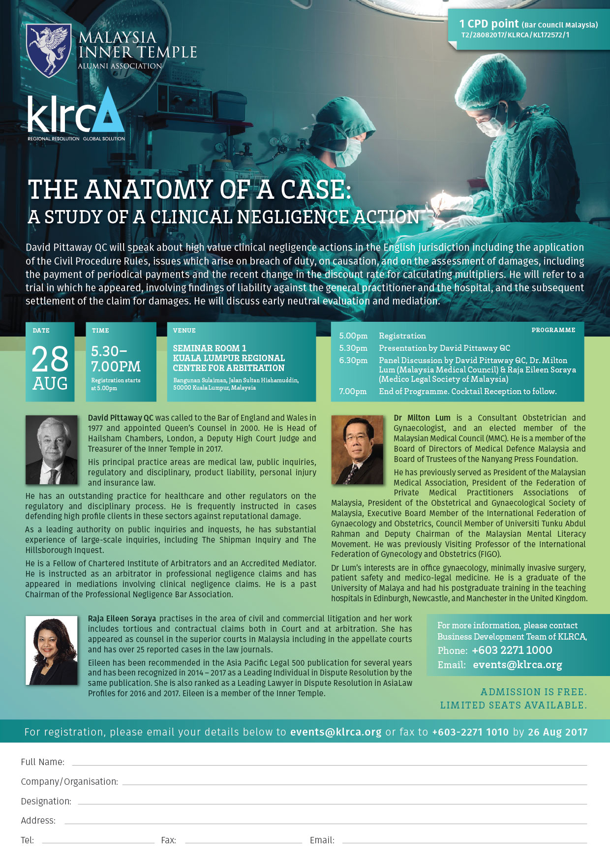 Aiac The Anatomy Of A Case A Study Of A Clinical Negligence Action