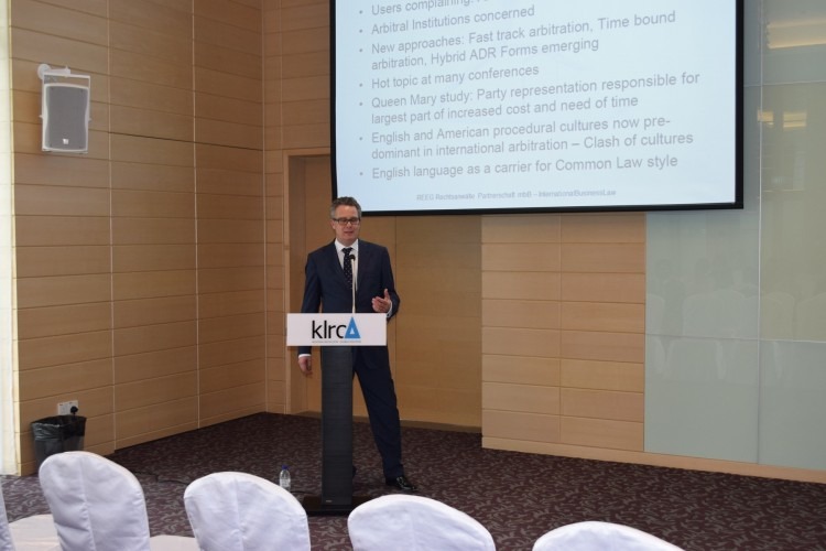 KLRCA Talk Series: Increasing the time and cost efficiency of arbitration – Is the German Approach viable in an international context.
