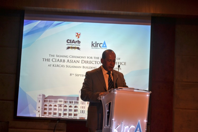 CIArb Collaborates with KLRCA to Launch Asian Directorate Office in Bangunan Sulaiman