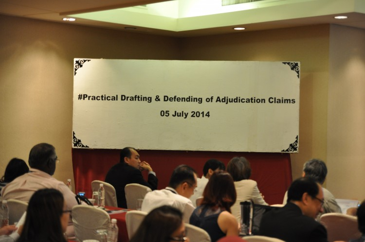 KLRCA #1 Practical Drafting And Defending Of Adjudication Claims